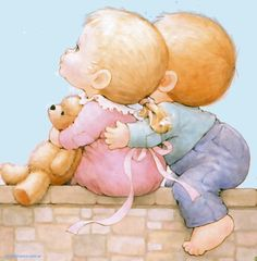 canciones infantiles Pictures To Paint, Cute Pictures, Baby Painting, Sarah Kay, All Things Cute, Baby Art, Kids Cards, Cute Drawings, Cute Art