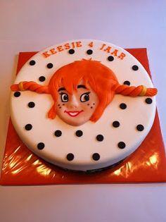 Taarten; Gemaakt door Jonne: Pippi Langkous taart