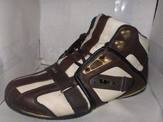 87bbc5dece MENS MOTORING 310 HIGH TOP SPORT BOOTS SIZE 11M LEVEN BRNT WHITE BROWN   MOTORING310  AnkleBoots