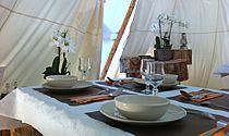 Restaurant du camp Altipik au Mont-Saxonnex