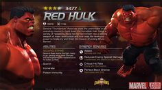 Red Hulk in Marvel Contest of Champions