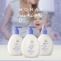 💙💙Monat Junior grows the Hair LONG and STRONG 💪...Great Detangler for both Adults and Kids‼️