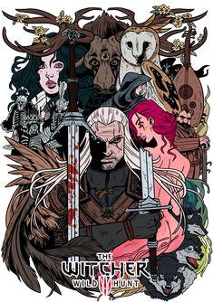 The Witcher3 by VegaNya.deviantart.com on @deviantART