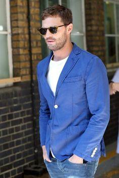 Jamie Dornan seen leaving ITV Studios, London, 8-30-2016