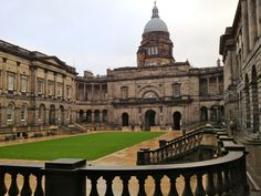 Courtyard at Old College, University of Edinburgh