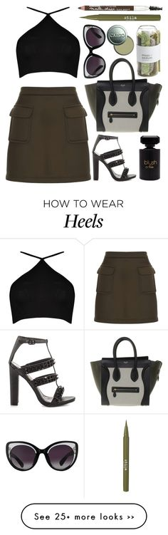 """I never want to leave"" by shanelala on Polyvore featuring Boohoo, Dorothy Perkins, Privileged, CÉLINE, Erdem, Crate and Barrel, Stila, Maybelline, CARGO and Forever 21"