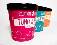Salmon & Parsley cat food on Behance