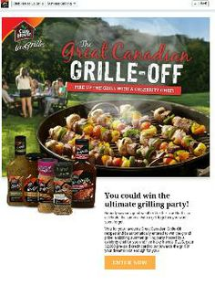 Club House La Grille Great Canadian Grille-Off  Contest ($2,000)