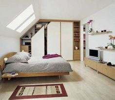 1000 images about placard chambre sous comble on pinterest dressing schmi - Idee amenagement comble ...