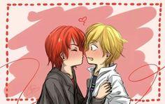 Nathanaël x Adrien!