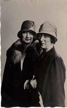Queen Astrid with her mother Princess Ingeborg of Sweden