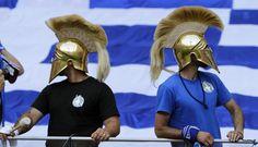 Greece soccer fans