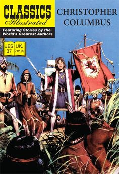 Cover for Classics Illustrated (JES) (Classic Comic Store, 2008 series) #37 - Christopher Columbus