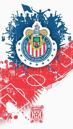 Team Wallpaper, Football Wallpaper, Chivas Wallpaper, Chivas Soccer, Football Mexicano, Iphone, Tumblers, Gears, Collage