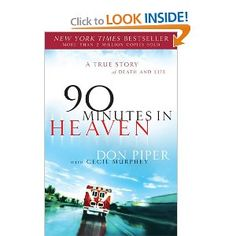 3rd of the 3 heaven series I read. This is about a man who went to heaven and came back - but most of it was about the reality of depression he faced when he came back...and finding God's purpose in bringing him back.
