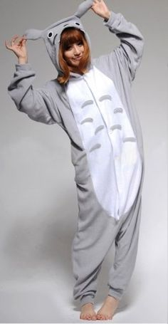 Totoro Onesie <3 #onesie #totoro I mean I don't know, is it bad that I actually really want one of these? // no. Definitely not I want one too
