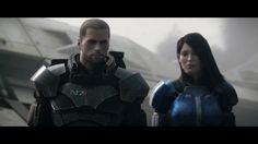 Nintendo Wii U - EA - Mass Effect 3 Take Earth Back Last scene Trailer -...