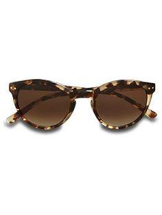 "Kate Spade ""Rory"" tortoise sunglasses"