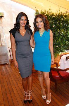 Rachel Roy & Sanaa Lathan
