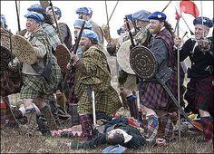 Culloden battlefield (re-enactment) Scottish Gaelic, Scottish Clans, Highlands Warrior, Bonnie Prince Charlie, Scottish Warrior, Scotland History, Old Irish, Highlanders, Kilts