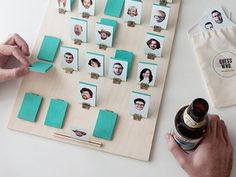Holy moly. We may have just found the DIY to end all DIYs. CUSTOMISABLE GUESS WHO.