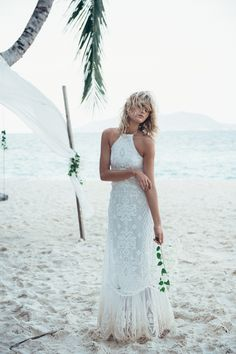 Pre-Order // Casablanca Lace Halter Gown • Spell & The Gypsy Collective - International