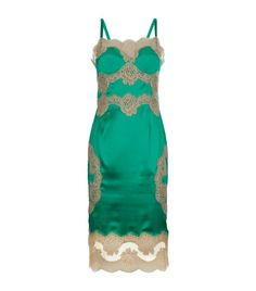 Pin for Later: These Stunning Slip Dresses Will Make You Want to Wear Lingerie by Day Dolce & Gabbana Lace Slip Dress Dolce & Gabbana Lace Slip Dress (£1,450)