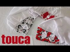Vamos fazer o molde da touca? - YouTube Backpack Pattern, Easy Hairstyles For Long Hair, Headbands, Purses And Bags, Sewing Projects, Couture, How To Make, Diy And Crafts, Patches
