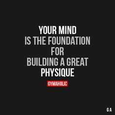 Daily fitness motivation in order to achieve your goals in the gym. Whether you want to build muscle or lose fat, we will help you. Lifting Motivation, Fitness Motivation Quotes, Health Motivation, Fitness Sayings, Workout Motivation, Michelle Lewin, Positive Quotes, Motivational Quotes, Inspirational Quotes