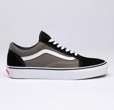 d108dca90b002c Vans Shoes Gray True White Genuine Womens Mens Old Skool Suede Canvas  Sneakers - eurshirt Shop