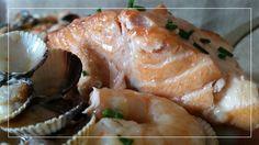 Cazuela de salmón