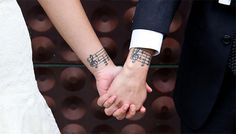 matching couple tattoos - notes