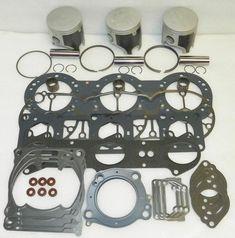 Seadoo 800 Platinum Piston Top End Rebuild Kit 010-818-11P .25mm OE 420888410