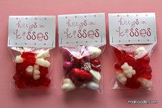 Valentine's Printable - Treat Bag Topper