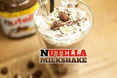 Nutella Milchshake, ein sehr leckeres Rezept aus der Kategorie Dessert. Bewertungen: 3. Durchschnitt: Ø 4,0.