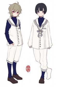 Guy Outfits Anime Drawing Clothes Dress Manga Character Costumes Style Costume Design