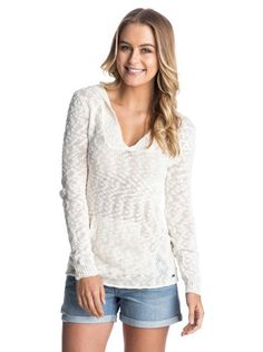 roxy, Warm Heart Sweater, egret (wbs0)