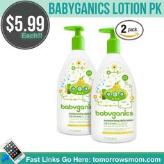 Babyganics lotion for only $5.99 each must buy the 2pk for $11.98 before taxes. Just follow easy instructions . Click link in my bio @tomorrowsmom -read . Free shipping!  or follow the link in my Bio a@Tomorrowsmom at TomorrowsMom.com #tomorrowsmom . #holidays #christmas #gifts #frugal #savings #deals #cosmicmothers #feminineenergy #loa #organic #fitmom #health101 #change #nongmo #organiclife #crunchymama #organicmom #gmofree #organiclifestyle #familysavings #frugal #healthyhabits…