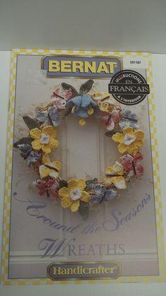 Around The Seasons Wreaths Bernat by recupefashionnstuff on Etsy, $5.95