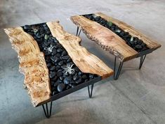Coffee Table 2019, Stone Coffee Table, Coffee Table Design, Coffee Tables, Diy Dining Table, Slab Table, Resin Furniture, Furniture Design, Mahogany Decking