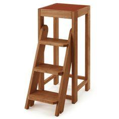 Tritthocker Kirschbaumholz | Sitzmöbel
