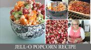 Jello flavored popcorn