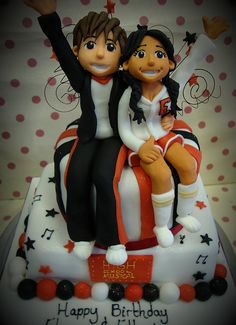 High school musical cake from richardcakes.co.uk