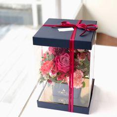 Luxury Flowers, Diy Flowers, Paper Flowers, Bouquet Box, Diy Bouquet, Flower Box Gift, Flower Boxes, Fleurs Diy, Flower Packaging