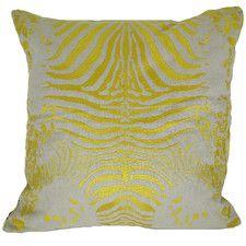 Tiger Cotton Linen Throw Pillow