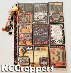 KC Croppers: Halloween Pocket Letters