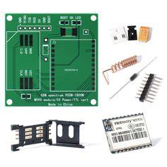 M590E GSM GPRS Module 900m-1800m Sms Message Kits M590 Sms CPU MCU Testing DIY TE481+