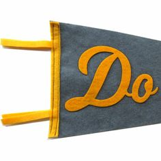 Felt Pennant - Do Your Best - For all of you Cub Scouts out there.