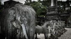 Imperial Tomb of Emperor Khai Dinh. (Hue, Central Vietnam)