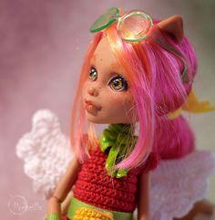 Custom Monster High Howleen Wolf OOAK Repaint by Prescilla #DollswithClothingAccessories
